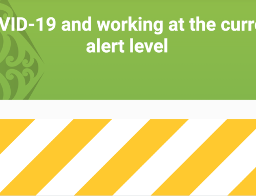 COVID-19 and working at the current alert level